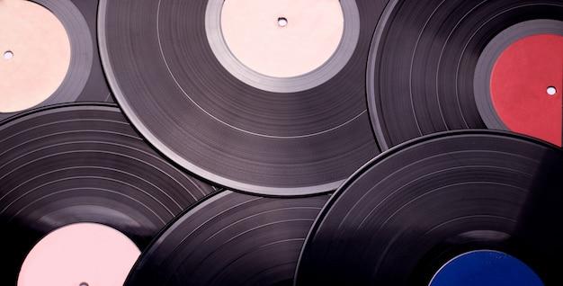 Textuur van vinyl