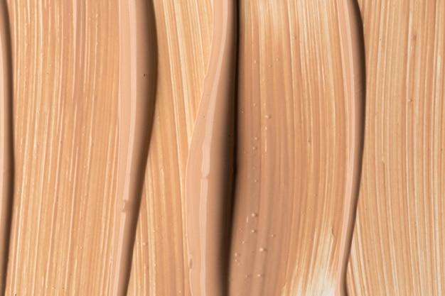 Textuur van vloeibare foundation