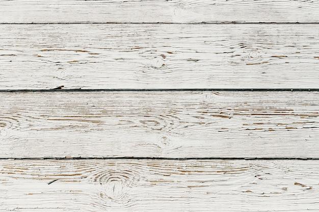 Textuur van wit geschilderde houten planken.