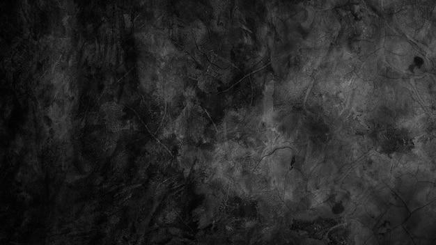 Textuur van zwarte betonnen muur
