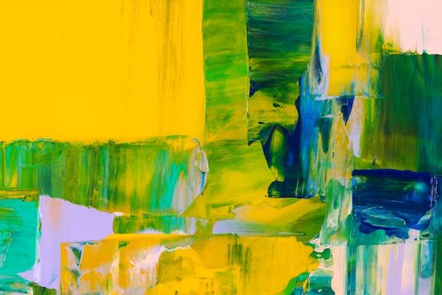 Textuur verf achtergrondbehang, abstracte kunst met gemengde kleuren