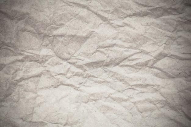 Textuur wit verfrommeld papier achtergrond.