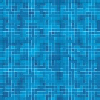Textuur zwembad mozaïek tegel achtergrond. behang, spandoek, achtergrond.