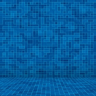 Textuur zwembad mozaïektegel