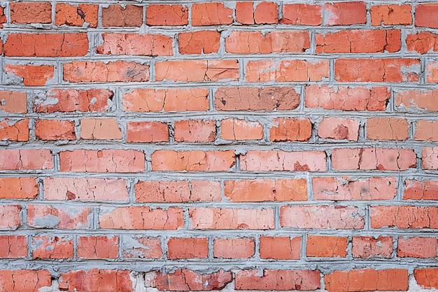 Textuurachtergrond van bakstenen muur