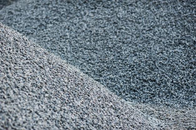 Textuurhoop van puin bij een bouwwerf