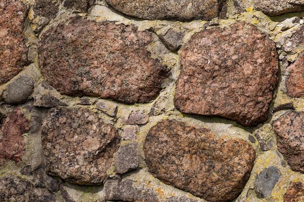Textuurmuren van natuursteen
