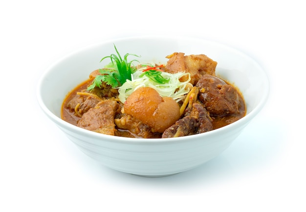 Thai northern style pork curry dit recept voor hang lay curry
