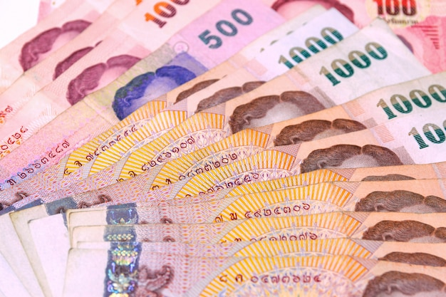 Thailand bad de monetaire basiseenheid van thailand.