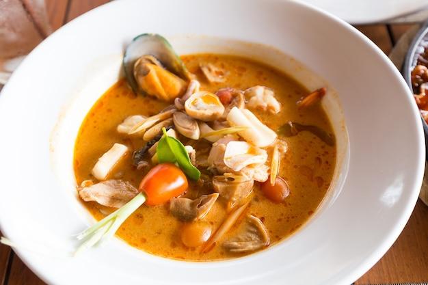 Thailand keuken zeevruchten