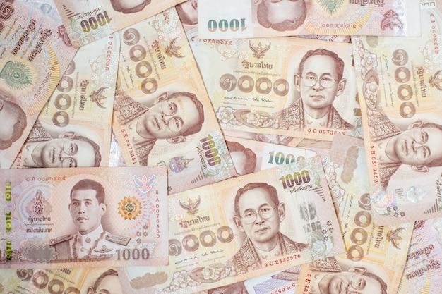 Thais bahtbankbiljet. zaken, investeringen, financiën
