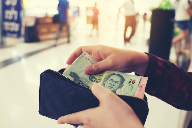 Thais bankbiljet op contant geld