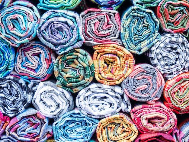 Thaise lokale handgemaakte stof