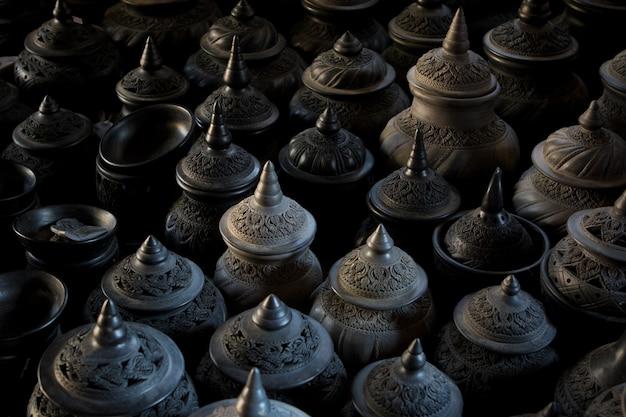 Thaise stijl klei pot