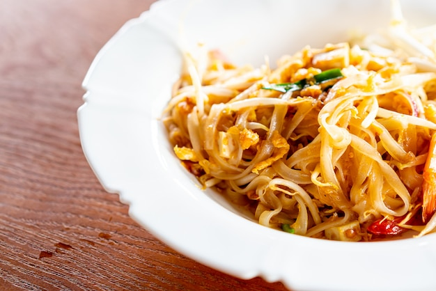 Thaise stijlnoedels, pad thai