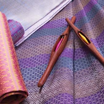 Thaise zijde en haspel