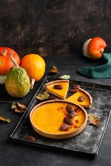 Thanksgiving day heerlijke maaltijdsamenstelling