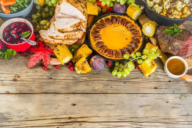 Thanksgiving-dinerconcept