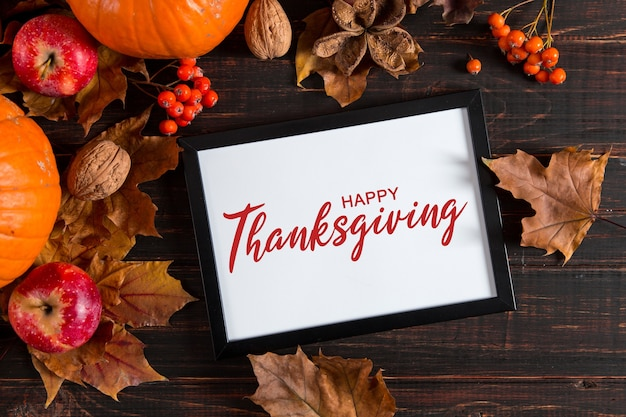 Thanksgiving groeten