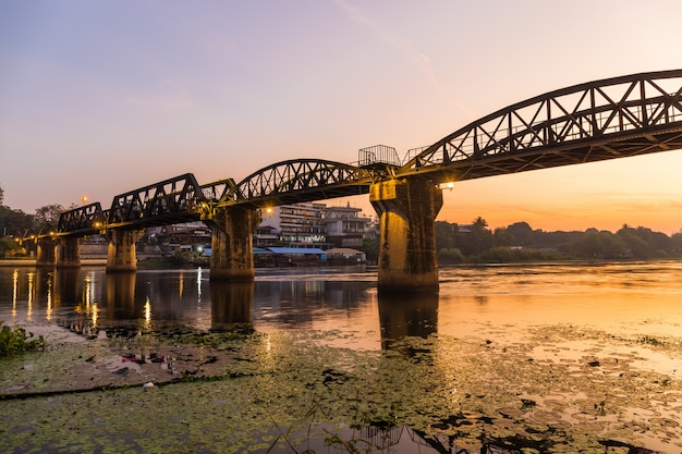 The bridge on the river kwai gebouwd tijdens de tweede wereldoorlog