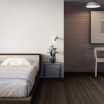 The loft & modern bedroom