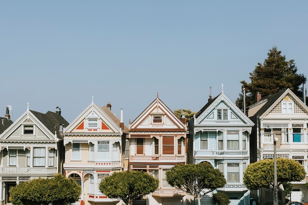 The painted ladies of san francisco, vs.