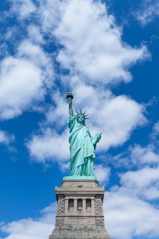 The statue of liberty, new york city, verenigde staten