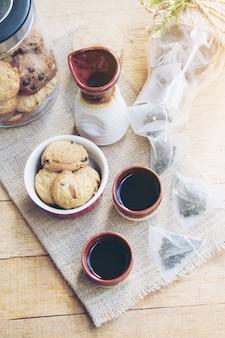 Thee en koekje