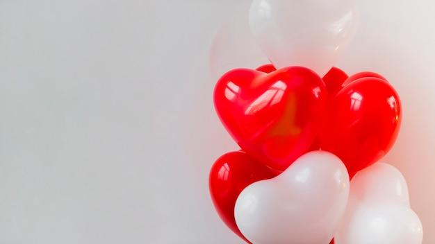 Thematische ballonnen voor valentijnsdag