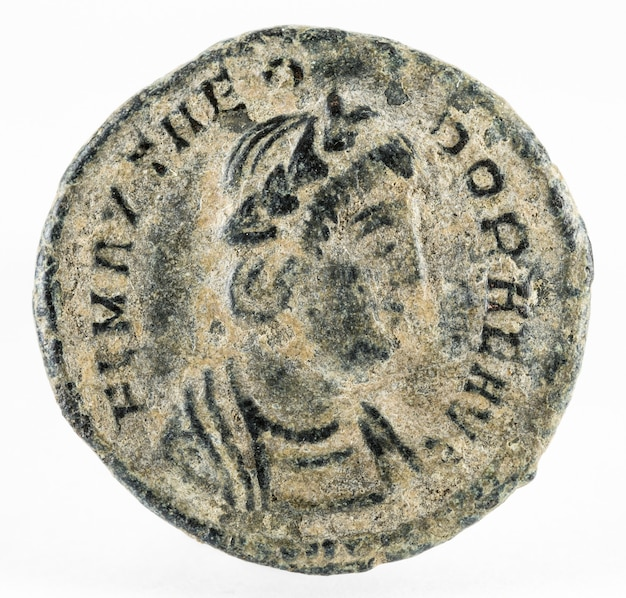 Theodora. romeinse munt.