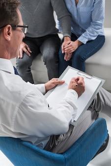 Therapeut evalueren
