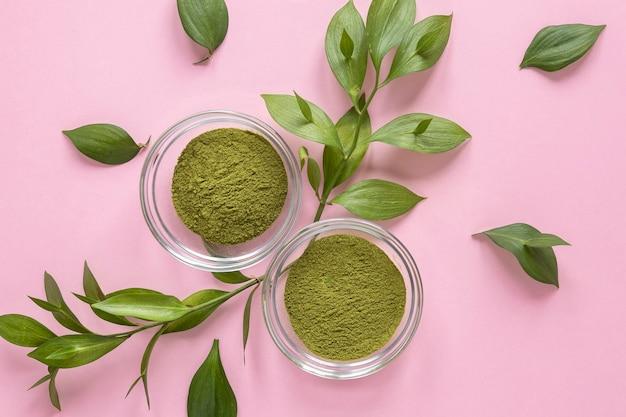Therapie ontspannende spa groen zand