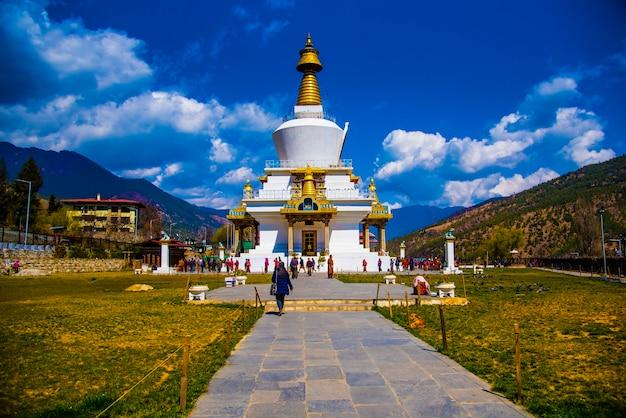 Thimphu-klooster in bhutan