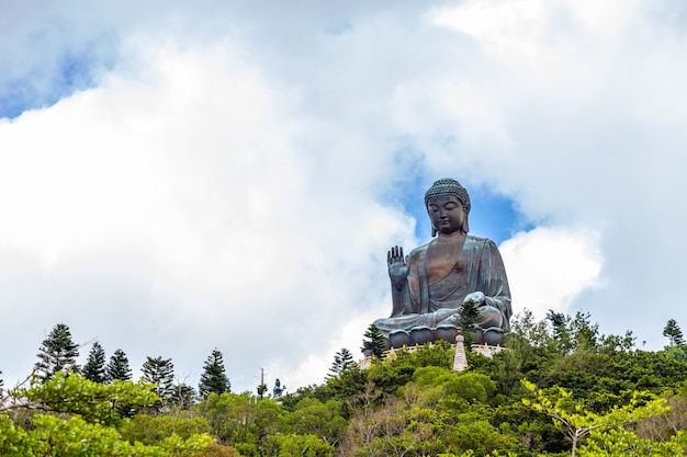 Tian tan buddha, big budda, the huge tian tan buddha at po lin monastery in hong kong