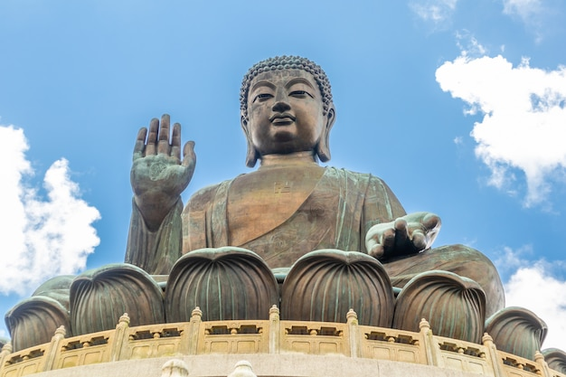 Tian tan buddha, big budda, the huge tian tan buddha at po lin monastery in hong kong.
