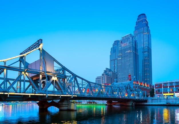 Tianjin city in china