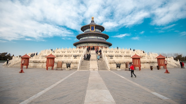 Tiantanpark in peking, china