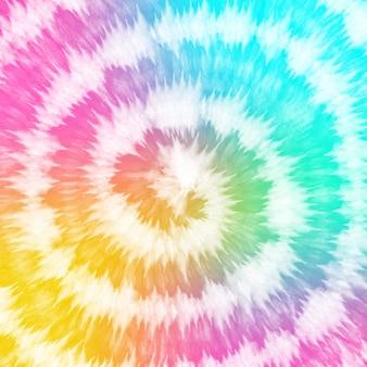 Tie dye kleurovergang kleurrijke neon regenboog aquarel verf achtergrond