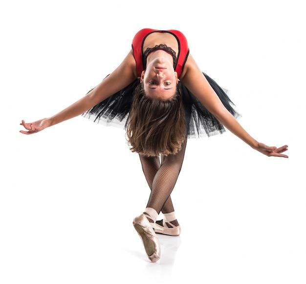 Tiener meisje ballerina danser