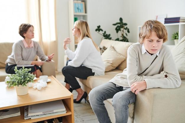 Tiener wordt verkeerd begrepen door moeder