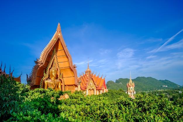 Tiger cave temple (wat tham suea) in kanchanaburi, thailand