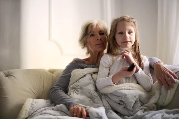 Tijd doorbrengen met oma