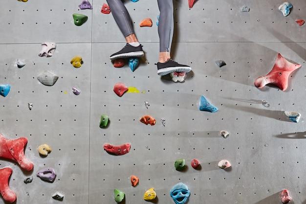 Tijdens het klimmen