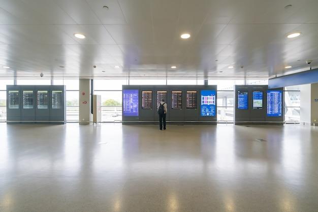 Tijdschema vluchtschema, reizen op internationale luchthaven vluchtschema elektronisch bord controleren