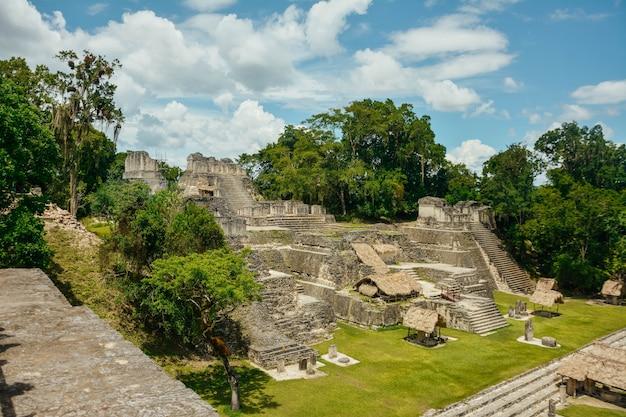 Tikal archeologisch nationaal park.