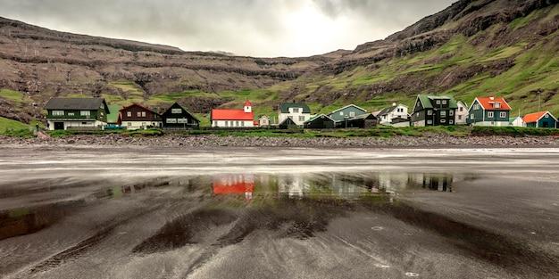 Tjornuvik, streymoy, faroe-eiland