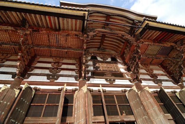 Todai-ji tempelhout
