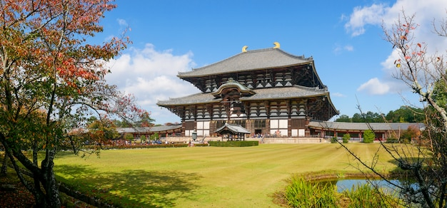 Todaiji-tempel is een boeddhistisch tempelcomplex, gelegen in de stad nara, japan
