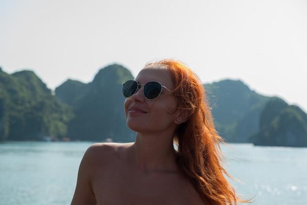 Toerist in halong bay