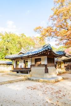 Toeristische aziatische architectuur dynastie landmark